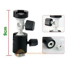 Photo Flash Adapter Swivel Light Stand Mount Umbrella Holder Brackets for Camera