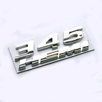 1 OEM Chrome 345 HEMI Emblem Badge decal 3D for Dodge Challenger Chrysle WU