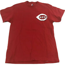 Cincinnati Reds Majestic T-Shirt Choo #17 Men's Size Medium Shin-Soo Choo