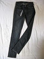 Miss Sixty Blue Jeans Stretch Denim W24/L34 low waist slim fit straight slim leg