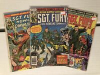 Sgt Fury And His Howling Commandos #117, #139, & #166