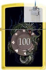 Zippo 1248 chip dragon casino Lighter & Z-PLUS INSERT BUNDLE