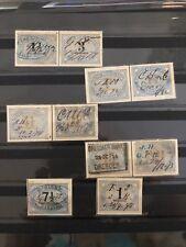 Stamps Germany Deutschland Groschen Braunschweiger Stempelmarken
