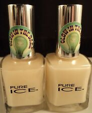 PURE ICE GLOW IN THE DARK NAIL POLISH X 2