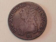 - France 1785 King Louis XVI One Silver Ecu Bordeaux Mint