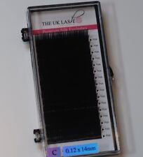 """C CURL 0,12 mm Singole Delle Ciglia Misto trays-eyelash estensioni """"Qualità Premium"""""""