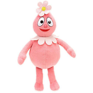 "Yo Gabba Gabba Foofa 5"" 13 cm Plush Soft Stuffed Figure Doll Toy"