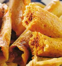One Dozen GOURMET HABANERO PORK TAMALES * Homemade Mexican * spicy hot frozen