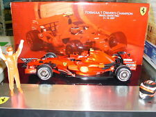 Hot Wheels Ferrari F2007 Raikkonen Brazil GP World Champion 2007 1/18 M0551