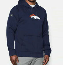 NFL Denver Broncos Under Armour Combine Authentic Performance Pullover Hoodie L
