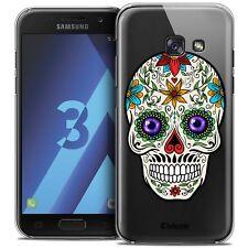 Coque Crystal Pour Samsung Galaxy A3 2017 (A320) Extra Fine Rigide Skull Maria's