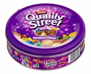 NESTLE QUALITY STREET CHOCOLATES & TOFFEES 480g - Pralinen - Schokolade - Toffee