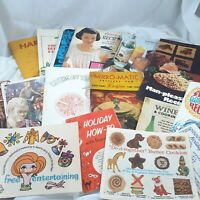 Vintage recipe booklet Lot Ephemera cooking Advertising kitchen