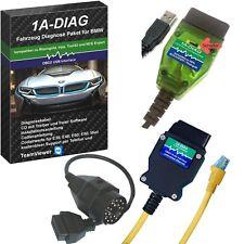 1a-Diag K + dcan/kline + ENET paquete de diagnóstico para bmw inpa ista e-sy NCS + adaptador