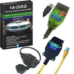 1A-DIAG K+DCAN/KLine + ENET Diagnose Set für BMW INPA Rheingold ISTA E-SYS NCS
