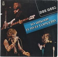 TO WHOM IT MAY CONCERN # BEE GEES (ATCO - USA)