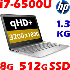 "HP ENVY 13-d002TU Core i7-6500U 8GB 512GB SSD 13.3"" QHD+  Slim Light Ultrabook"