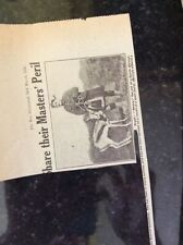 a1l ephemera 1917 ww1 picture nancy mascot south african battalion somme front