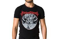Nocturnal Graves Band Reaper Logo Black T-Shirt