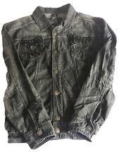 Raw Blue Jean Jacket 3xl Cool Design