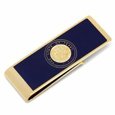 State of Texas Seal Gold Tone Money Clip NIB  Free shipping