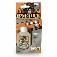 Genuine GORILLA GLUE Multi-Purpose Super Gel Strong Wood PVA Clear Adhesive UK