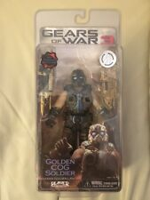 NEW NECA : Gears of War 3 - Golden Cog Soldier Action Figure *VERY RARE*
