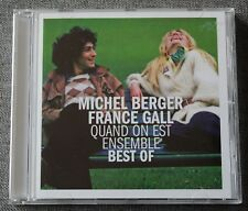 Michel Berger - France Gall, quand on est ensemble - Best of, CD