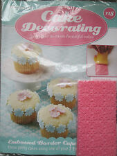 Deagostini Cake Decorating Magazine ISSUE 118 WITH 2 EMBOSSING MATS