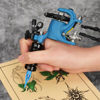 NEW Blue Rotary Tattoo Machine Kit for Shader & Liner,