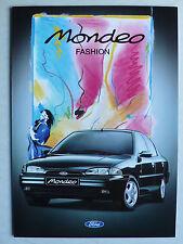 Prospekt Ford Mondeo Fashion 1. Modell, 2.1995, 6 Seiten, folder