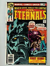Marvel When Gods Walk The Earth The Eternals #1 July 1976 Jack Kirby Nm