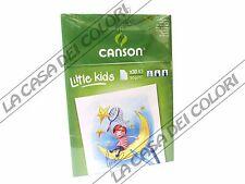 CANSON KIDS - A3 - 90 g/mq - BLOCCO 30 FG - BLOCCO DA DISEGNO PER BAMBINI
