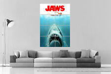 les dents de la mer Jaws Art Poster Grand format A0 Large Print