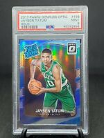 2017-18 Optic Jayson Tatum Silver Holo RC PSA 9 Boston Celtics