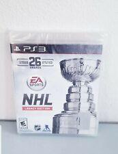 NHL Legacy (Sony Playstation 3, 2015) Brand New Sealed Free Shipping!