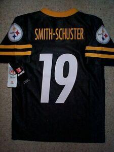 (2020-2021) Steelers JUJU SMITH-SCHUSTER nfl Jersey YOUTH KIDS BOYS (m-medium)