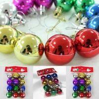 12 Quality Clip On Beard Baubles Decorations Secret Santa Xmas Present Gift