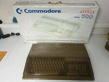 Commodore Amiga 500 Versiegelt, unverbastelt mit Netzteil,Ovp u Disketten100% Ok