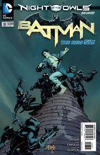 BATMAN #8 NIGHT OF OF OWLS DC NEW 52