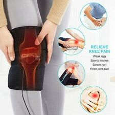 Electric Heating Knee Wrap Pad Brace Therapy Leg Massager Pain Relief Pads USA
