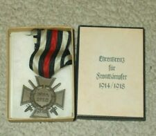 German 1914 1918 World War I One Medal In Reproduction Presentation Box