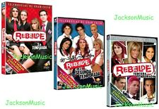 REBELDE Novela Season 1+2+3 Telenovela* 3 DVD Box Sets *USED VERY GOOD CONDITION