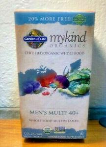 Garden of Life MyKind Organics 40+ Men's Multi 40+ MultiVitamin 120 ct