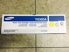 Samsung Toner jaune CLX-Y8380A pour 8380 ND NEUF Emballage d'origine MultiXpress