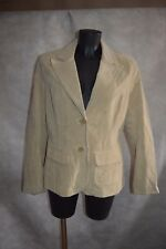 BLOUSON VESTE CASUAL WOMEN TAILLE 44 CUIR  GIACCA/CHAQUETA/JACKET LEATHER