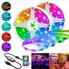 Flexible LED Strip Light 5050 RGB Ribbon Tape Backlight WIFI Remote  Controller