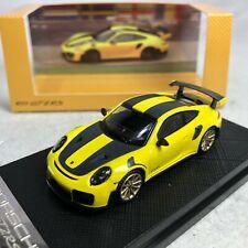 1/64 Porsche Dealer Version Porsche 911 GT2 RS Yellow