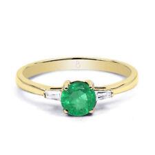 Ringe mit Diamant echten Edelsteinen im Verlobung-Stil für Damen