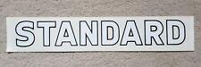 McCORMICK INTERNATIONAL TRACTOR 'STANDARD' DECAL